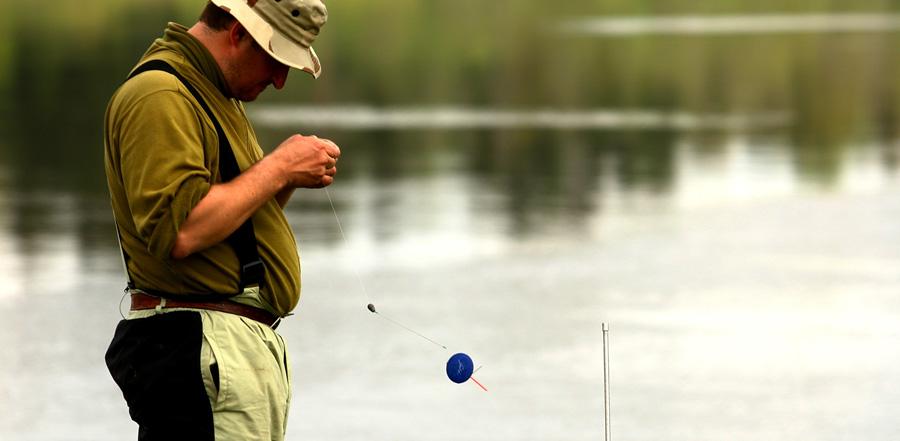 прикормка рыбы на озере